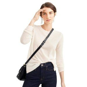 J. Crew Cashmere Sweater in Natural